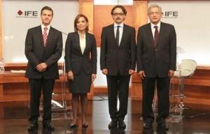 Debate Candidatos Presidenciales