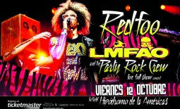 Redfoo de LMFAO y su Party Rock Crew en México