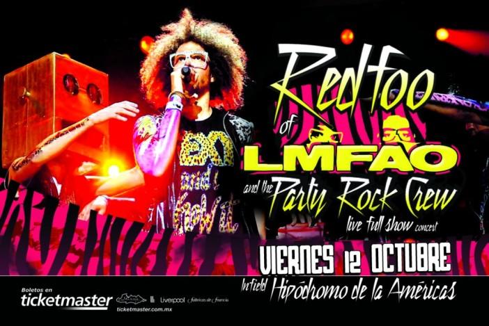 Redfoo de LMFAO y su Party Rock Crew en México