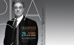 Placido Domingo cantará en Acapulco