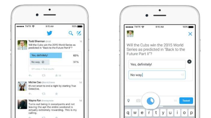 Nuevo servicio para crear encuestas en Twitter
