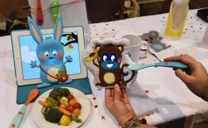 Un gadget para que los chicos coman verduras