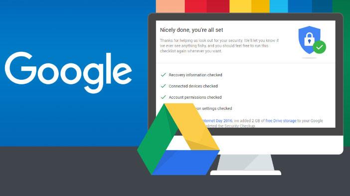 Google regala 2GB extra en Drive en día del Internet Seguro