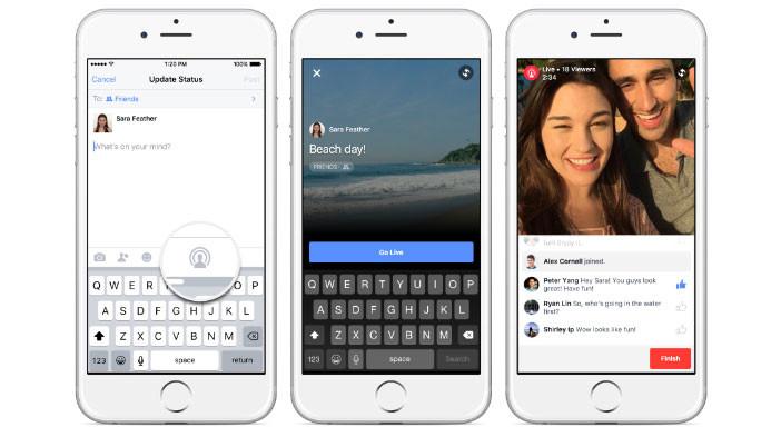 Facebook Live, ahora disponible para todos