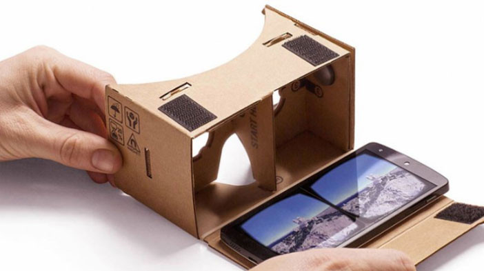 El casco de realidad virtual de Google