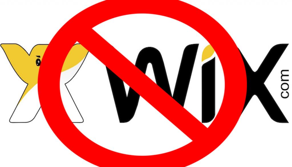 porque no sirve wix