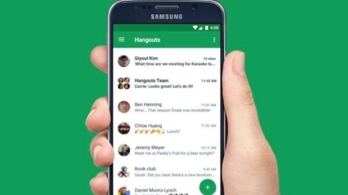 Hangouts ya permite grabar y enviar videos en Android