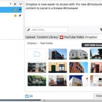Hootsuite ya permite importar imágenes y archivos GIFs desde la nube