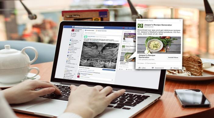 Nueva experiencia publicitaria en facebook