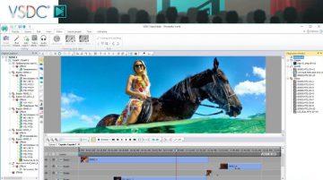 VSDC alternativa gratuita a Adobe Premiere