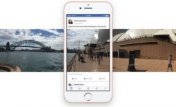 Facebook actualiza fotos 360°