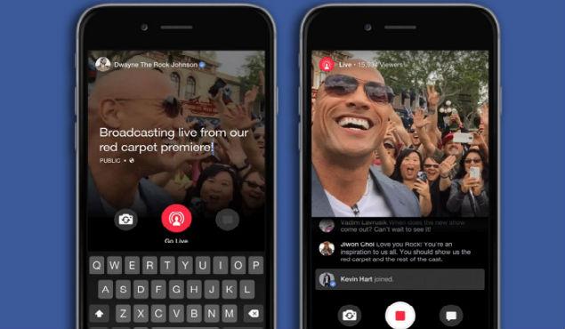 Facebook habilita la programación de video en vivo