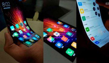 Xiaomi, teléfono con pantalla flexible