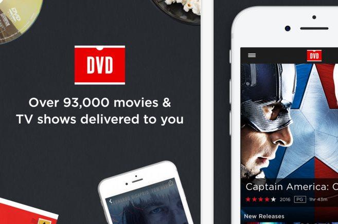 Netflix lanza app para alquilar DVDs desde el celular