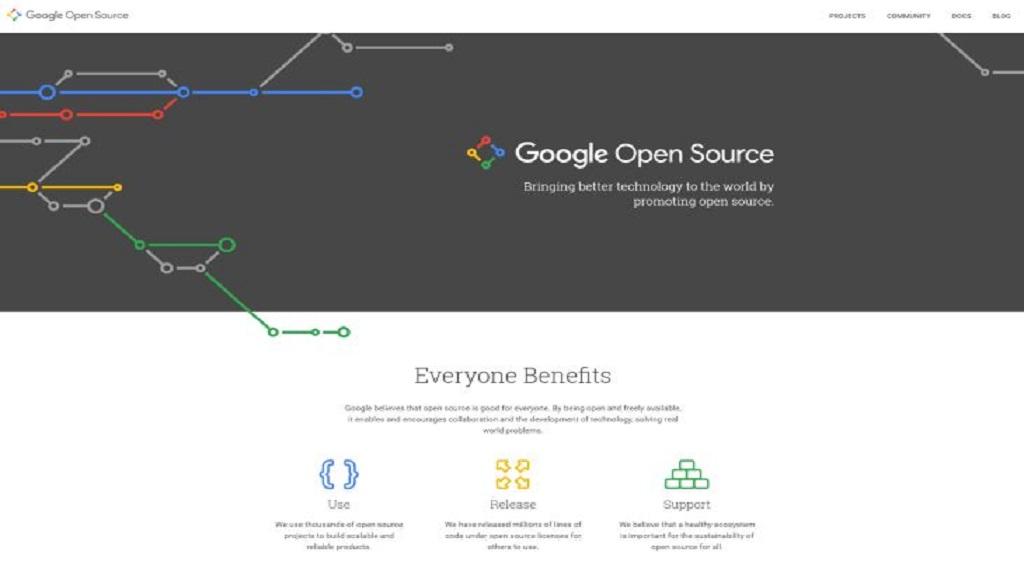 Google muestra sus iniciativas sobre código abierto