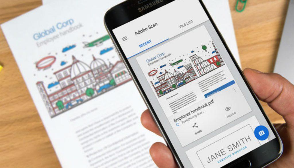 Escanea documentos con celular