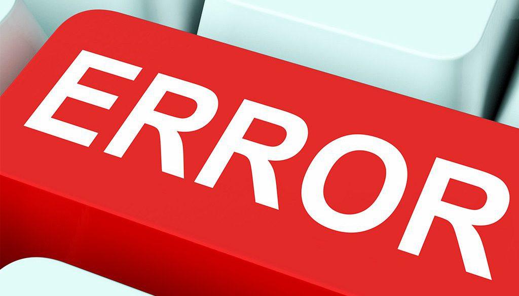 Errores en adwords